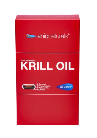 SUPERBA BOOST KRILL OIL 300 LICAPS