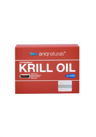 SUPERBA BOOST KRILL OIL 60 LICAPS